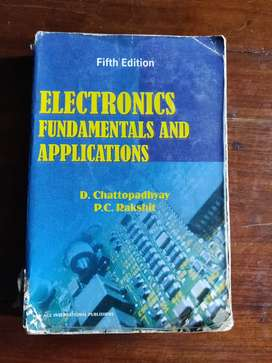 Rakshit Chattopadhay Electronics Fundamentals and Applications