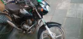 I am Interested to cell my bike bajaj discover 125cc .