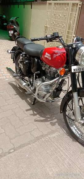 Royal infield bullet classic 350  only km 13000
