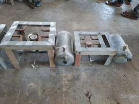 special galvenise stove special for boat junk less steanless