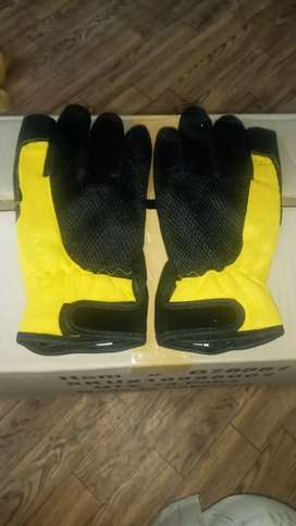 A lot of export quality winter 'working 'of artificial Leather Gloves
