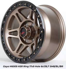 velg racing HSR GAYO R17 for rangers everest terrano