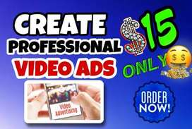 I will make short video ads for facebook, instagram or product