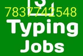 20 pages typing job II 200 Rs.per page II 100% daily payout. II