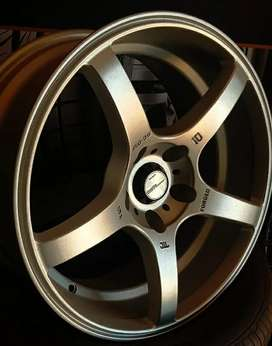Alloy wheels 17-5*114.3-9j  for Crysta,Innova, Duster , Brezza,Civic,A