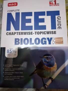 Neet preparation book by mtg