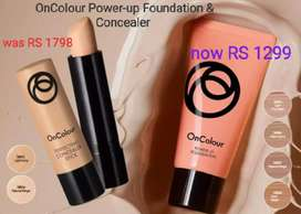 Concealer and foundation