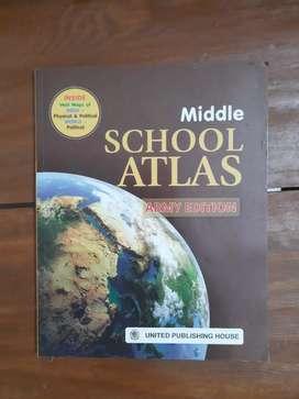 Middle school atlas, ARMY EDITION