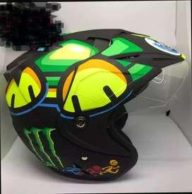Helm tartaruga dobel kaca