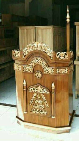 mimbar masjid nama model kreta 0