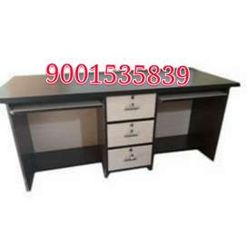 New branded full size two seater office table office furniture