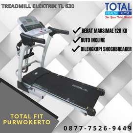 Alat olahraga Lari Treadmill Elektrik TL 630 I Treadmill 3 fungsi gym