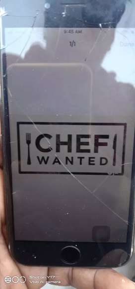 Wanted all types of food prepared cook