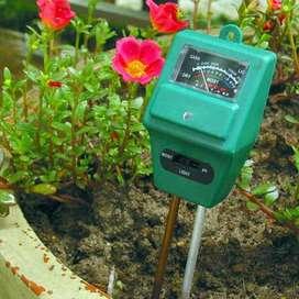 AyooDropship - 3in1 Alat Pengukur Kelembaban Tanah Soil Moist PH Detec
