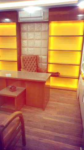 Fully furnish ofice for sale moslim comercial front intrnc
