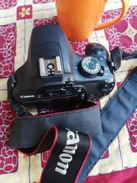 Canon 1200D with pack