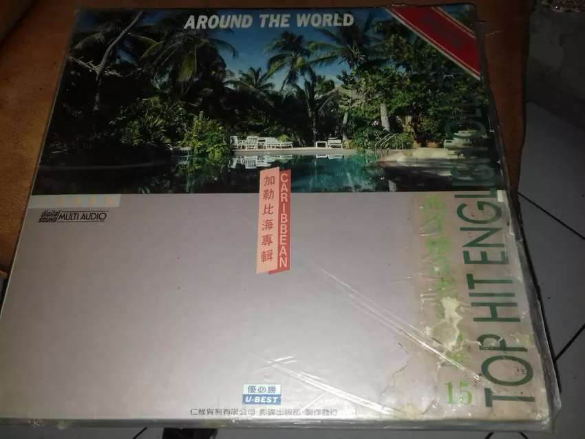 laser disk music top hits english around the world 0