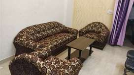 Fully furnished 1bhk flat for rent available in greator noida west