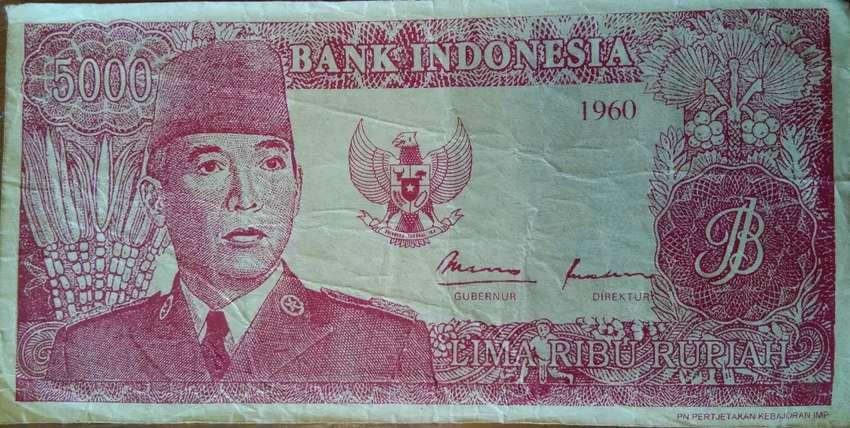 Jual uang kertas antik 0