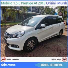 [Dp19jt] Mobilio 1.5 E Prestige At 2015 Orisinil Bisa Kredit