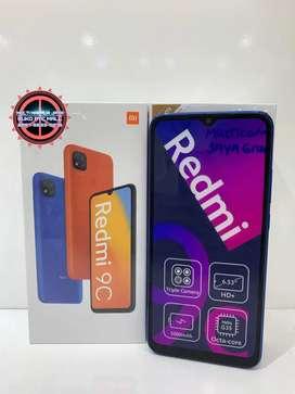 REDMI 9C RAM 4/64 GARANSI RESMI XIAOMI 2 TAHUN