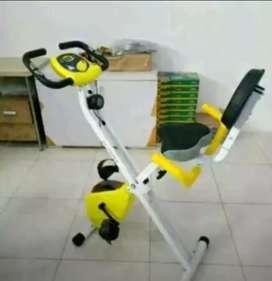 bike sandaran with monitor bergaransi