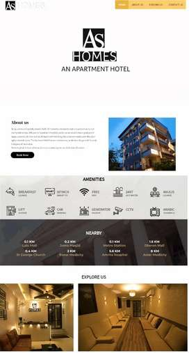 AS HOMES-FULLY FURNISHED APARTMENTS FOR DAILY RENT