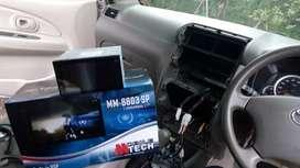 Tape mobil head unit doubledin android singledin dekless tape mp3 mp5