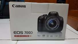 Canon 700D Kit EF-S 18-55 mm