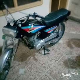 Honda 125 2005 model Gujrat number