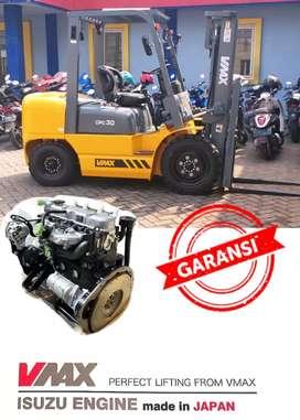 Forklift 3 Ton Mesin ISUZU Made In Japan Merk VMAX