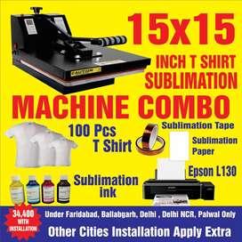 T shirt machine combo