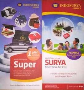 Dicari Free SA ( agent freelance ) PT Indosurya Finance