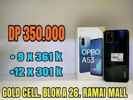 Cukup Bayar 350.000 Promo Oppo A53 Ram 4 & 6/128 Gb Langsung Acc Ya