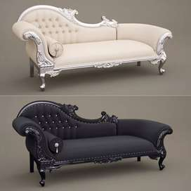 Sofa mewah, sofa elegant, 1pcs, pilihan 2warna, kayu jati , freeongkir