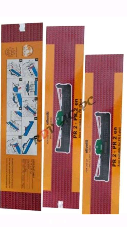 ribbon cartridge pita olivetti pr2 pr 2 plus ori hlogram 0