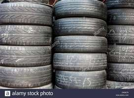 Good Condition Second Hands tyres available for all vehicles.
