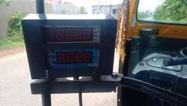 Auto rikswa digital meter