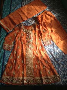 Pure fancy Angrakha dress for sale