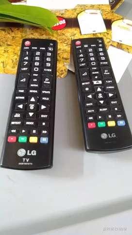 REMOT TV LED LG ORI BARU