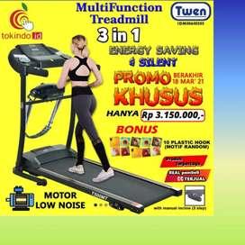 treadmill elektrik twen TM-523 eletric // sepeda statis//