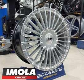 Velg mobil racing murah ring 17 HSR wheel baut 5x100 dan 5x114,3 CRV