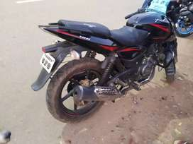 My bike is pura new condition all tyre new all type ok pulsar 180