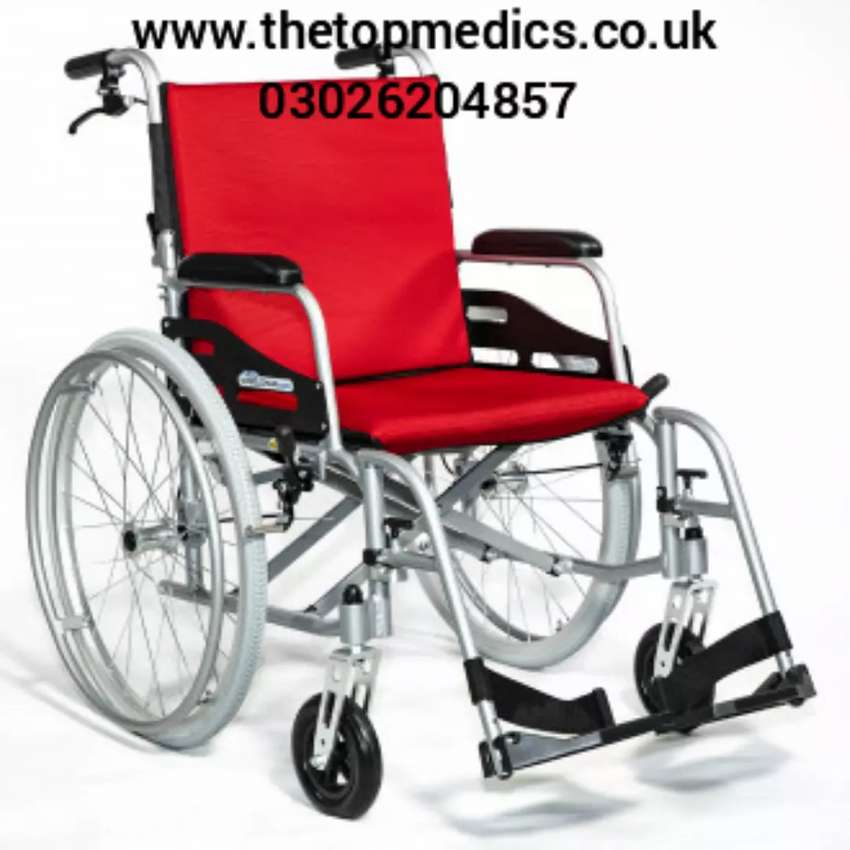Wheel Chair manual Impoted, patient Wheel chair, new chair 0