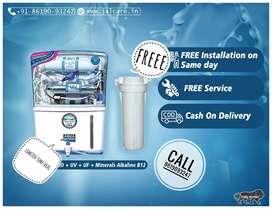 Nn new aqua grand plus Ro UV uf TDS controller alkaline water purifier