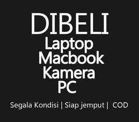 Di Beli Laptop dan Macbook Segala Kondisi siap tampung gan