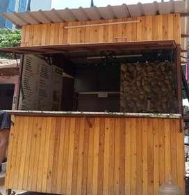 Newly built kiosk shop available for sale.