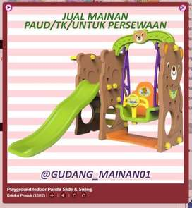 playground indoor ready surabaya Bear slide with Swing