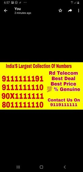 Indias best vip numbers