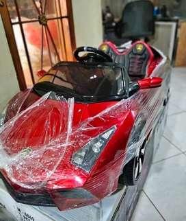 [COD] Mobil Mainan Aki Lamborghini Platinum Bisa Dikendarai Anak